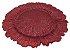 Sousplat Decor Flor 33CM - Vermelho - Imagem 2