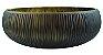 Vaso Decor de Vidro 10CMxØ29 - Marrom - Imagem 1