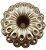 Forma para Bolo Marquesa Alumínio Fundido 20224 - Imagem 1