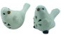 Pássaro Cerâmica Frontal Branco 4178 - Imagem 5