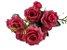 Buque Rosa Diamante X6 30CM Rosa Pink 03322 - Imagem 4