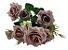 Buque Rosa Diamante X6 30CM Rosa Antigo 03322 - Imagem 3