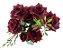 Buque Rosa Diamante X6 30CM Vermelho - Imagem 3