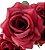 Buque Rosa Diamante X6 30CM Vermelho - Imagem 5