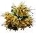 Buque Lírio Mini X18 Creme Outono 32CM 42989001 - Imagem 1