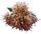 Buque Lírio Mini Rose Outono 32CM - Imagem 1