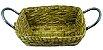 Cesto Taboa Retangular C/ Alça Lateral HB102535 - Imagem 1