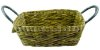 Cesto Taboa Retangular C/ Alça Lateral HB102535 - Imagem 2