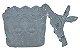 Mini Bomboniere Quadrado Vidro Tampa Borboleta - Imagem 2