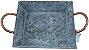 Bandeja Retangular Rustico Cobre - Imagem 2