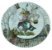 Prato Sobremesa Coelho - Imagem 2