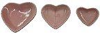 Coração Cerâmica Médio Rosa 12,3 x 12,3 2008081 - Imagem 3