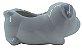 Cachorro Branco Vaso FR202028 - Imagem 2