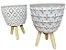 Tripé Vaso FR202110 - Modelos Sortidos - Imagem 2