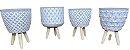 Tripé Vaso FR202110 - Modelos Sortidos - Imagem 3