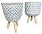 Tripé Vaso FR202110 - Modelos Sortidos - Imagem 1