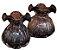 Murano Vaso Italy Purpura / Rose 10x11 4440 - Imagem 2