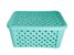 Caixa Organizador Rattan C/ Tampa 35x25x17 710 - Cores sortidos - Imagem 4