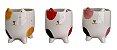 Vaso Cerâmica Cat CK5051 Vermelho - Imagem 4