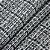 TECIDO TRESSE CHANEL MONACO COR PRETO 1/2 METRO - Imagem 1