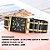 Relógio Premium Luxo Coleção 2021 Para Mulheres Preto com Dourado - Imagem 2