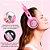 HEADSET GAMER G951 SOMIC PINK + Adaptador de Brinde - Imagem 8