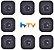 Kit de 8 Receptores Htv 7 Ultra HD 5G 16GB - Imagem 1