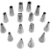 Jogo de Bico com 16 Peças Inox - Imagem 1