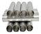 12 Formas Canola Canudo Recheado Tubo Grossa Alumínio 11x2cm - Imagem 3