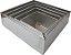 Forma Para Bolo Quadrada 5 Peças Alumínio - 10 Cm de Altura  - Imagem 1