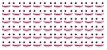 Olhos Adesivos Resinados 351PP com 42 pares - Imagem 2