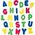 Brinquedo de Banho Letras e Números Buba - Imagem 2