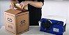 Caixa 12 Fitas Gomada Kraft Virgem Impressa Lacre De Segurança 80 mm X 190 Metros - Imagem 4