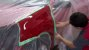 Caixa 72 Fitas Crepe Verde Reparação Automotiva 18 mm X 50 Metros - Imagem 10