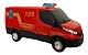 Brinquedo Van Iveco Daily Resgate Bombeiro Com Acessórios Usual Brinquedos - Imagem 4