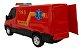Brinquedo Van Iveco Daily Resgate Bombeiro Com Acessórios Usual Brinquedos - Imagem 3