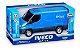 Carrinho Brinquedo Iveco Daily Van Miniatura Abre Porta - Imagem 3