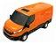Carrinho Brinquedo Iveco Daily Van Miniatura Abre Porta - Imagem 5
