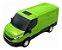 Carrinho Brinquedo Iveco Daily Van Miniatura Abre Porta - Imagem 6
