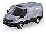Carrinho Brinquedo Iveco Daily Van Miniatura Abre Porta - Imagem 4