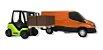Brinquedo Miniatura Van Iveco Daily Com Empilhadeira Usual - Imagem 5