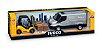 Brinquedo Miniatura Van Iveco Daily Com Empilhadeira Usual - Imagem 1