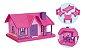 Casinha Boneca Bella Encantadora Usual Brinquedos - Imagem 3