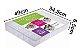 Caixa Organizadora Grande Box Multiuso Plus 34 Divisórias - Imagem 4