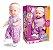 Boneca Cuties Baby 33 Cm Milk Brinquedos - Imagem 3