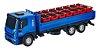 Caminhão Iveco Tector Dropside Miniatura Cores  - Imagem 1