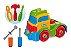Brinquedo Educativo Caminhão Monta Desmonta Com Ferramentas - Imagem 1