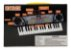 Teclado Piano C/ Microfone Brinquedo Criança Bx1622 Dm Toys - Imagem 2