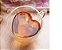 Jogo De Xícaras Vidro Parede Dupla Coração 80ml - 2 Peças - Imagem 8