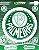Cartela de 5 adesivos do escudo do Palmeiras. - Imagem 1